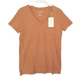 Universal Thread  Short Sleeve Boxy T-Shirt V Neck